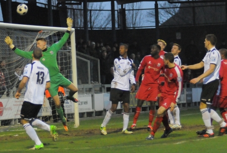 Dartford go close once more as they book a quarter-final tie against FC Halifax