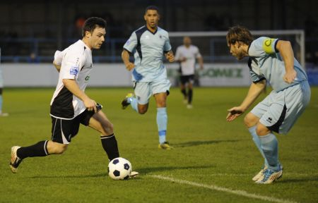 Dover's Jamie Smith v Boreham Wood