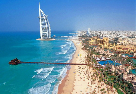 Dubai beach (file picture)