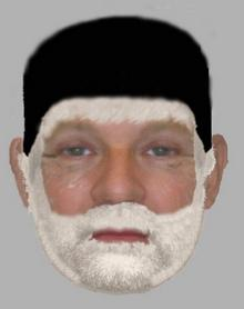 An e-fit image of a man police want to speak to in connection with an alleged assault in Larkfield