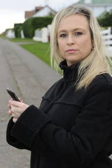 Stalking victim Kerry Barnett, from Kingsdown, has designed an app for other victims