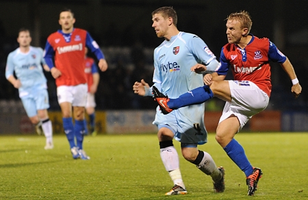 Danny Jackman looks to have earnt Gillingham a point with his 79th-minute equaliser