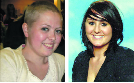 Facebook troll victims Amanda Slann (left) and Charlotte Porter