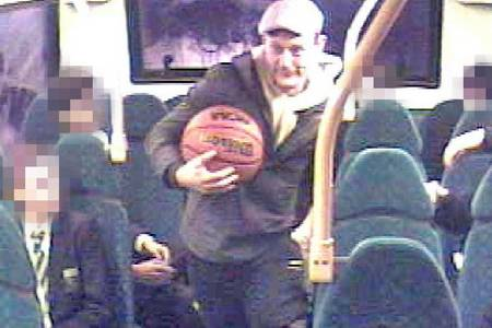 Police are seeking this man after baring his buttocks on an Arriva bus in Tonbridge High Street