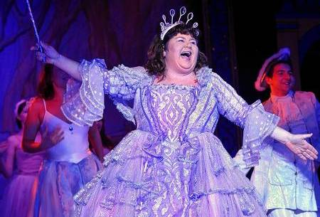 Cheryl Fergison as Fairy Godmother in Cinderella, Central Theatre