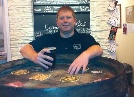 Neil King, landlord of the Firkin Alehouse, Folkestone