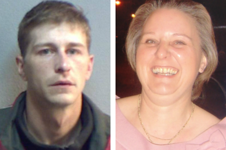 Gary Sturt has been locked up indefinitely for strangling his mother Annette