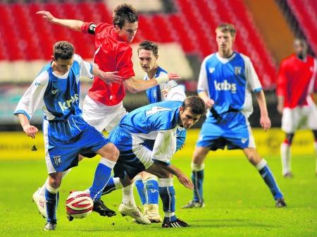 Gillingham under-18s v Charlton