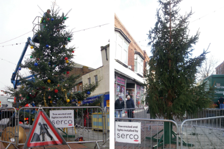 Herne Bay Christmas trees