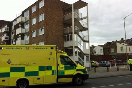 A man was found dead near Elizabeth Court in Queen Street, Herne Bay