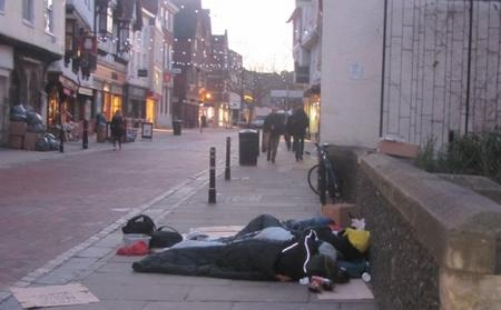 Canterbury Homeless Numbers Largest In Kent