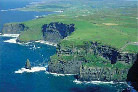 The west coast of Ireland offers dramatic coastal scenery