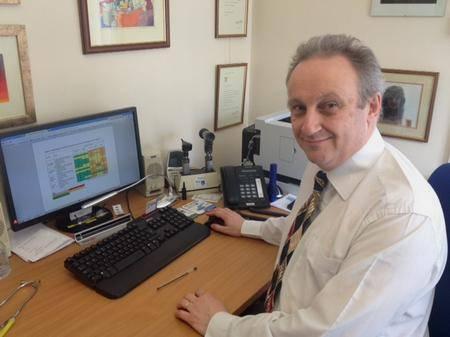 Dr Julian Spinks, Strood GP.