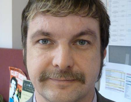 Advertising executive Ben Watson's mo received many favourable comments