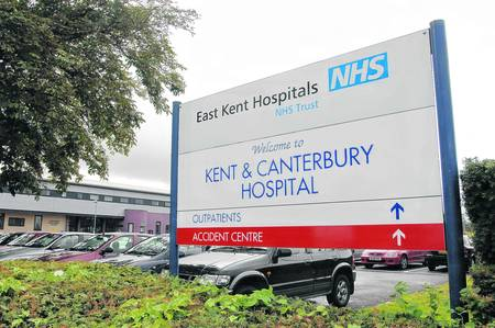 Kent and Canterbury Hospital stock picture