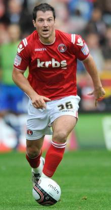 Charlton Athletic's Yann Kermorgant