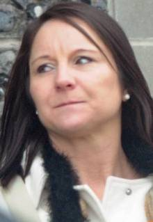 Kelly Day, who stole more than £13,000 from a 92-year-old man, pictured at Canterbury Crown Court