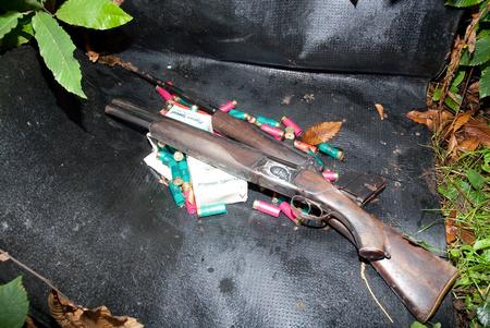 Guns found at the home of Joseph King