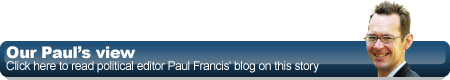 Paul Francis blog button