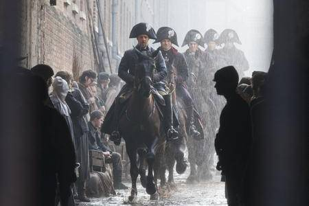 Russell Crowe filming Les Miserable in Chatham's Historic Dockyard