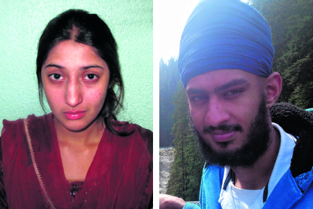 Mundill Mahil (left) has been sentenced to six years in a young offenders' institute after a revenge attack ended in Gagandip Singh's murder.