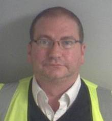Mark Knight, jailed for stealing from G4S depot in Maidstone.