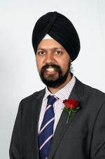 Cllr Tanmanjeet Singh Dhesi, mayor of Gravesham