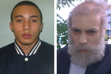 Miles Alura 16 disguised himself as an old man to rob a Longfield jewellery store