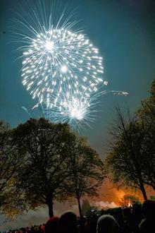 Fireworks in Gillingham