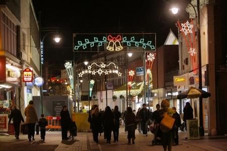 Chatham Christmas lights