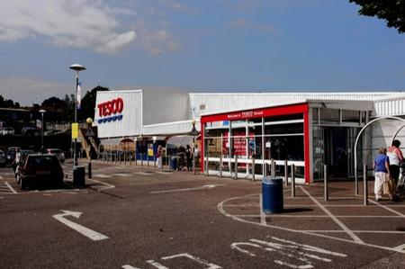 Plans have been lodged to expand Tesco's Cuxton Road, Strood, store
