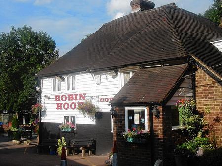 Robin Hood pub, Blue Bell Hill