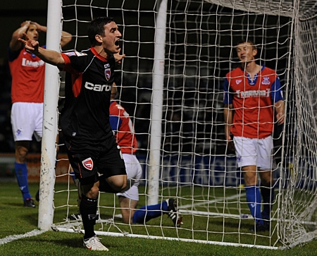 Jack Renshaw looked to have denied the Gills all three points with his 69th-minute equaliser