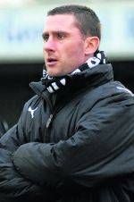 Dover manager Nicky Forster