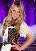 Chloe Madeley as Cinderella at Maidstone's Hazlitt Arts Centre