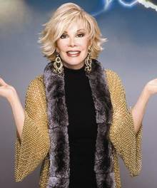 US comic Joan Rivers