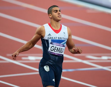 Dartfords Adam Gemili finishes in the 100m semi-final, just missing out on a final place