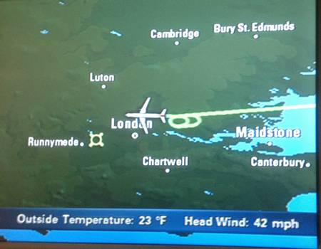 A British Airways navigation system had Maidstone in the Thames Estuary