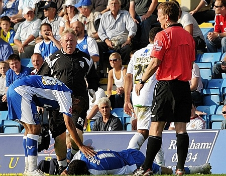Saturday's match against Norwich was refereed by Paul Taylor. Picture: Barry Goodwin