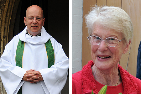 Reverend John Suddards and Betty Yates
