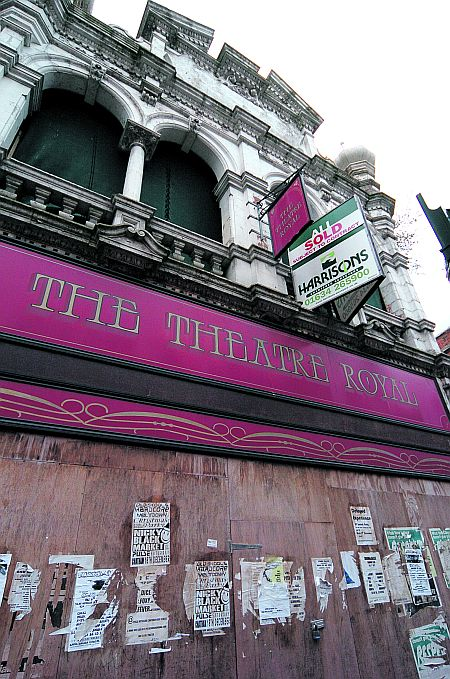 The Theatre Royal was opened in 1899. A campaign to restore the Grade II listed building failed in 2004 as costs soared.