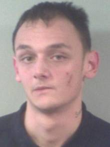 Samuel Ward, 20, of St Peter's Footpath, Margate, was jailed for two years for threatening to kills his mother