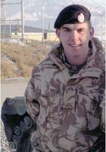 Sapper Mark Smith, killed in Afghanistan