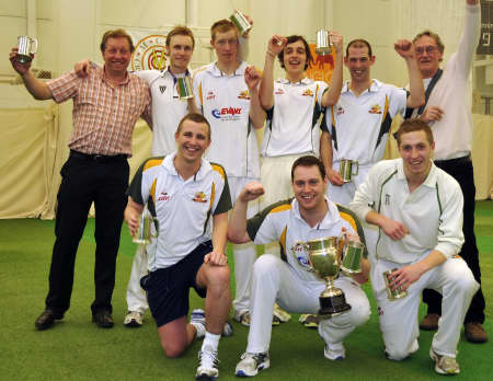 National indoor cricket champions Whitstable