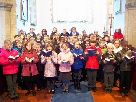 Bredgar Primary school pupils will be heard singing the carol Silent Night on the Radio 2 programme Sing in Heavenly Peace: The True Story Of Silent Night when it airs on Christmas Day at 9pm
