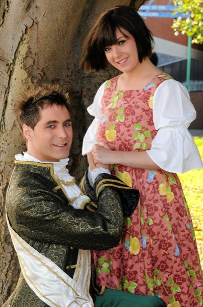 The Prince and Cinderella - Peter Bliss and Amy Mizzi.