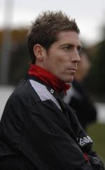 Whitstable Town player-manager Nicky Southall