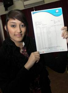 Protiba Islam has been awarded an A* instead of an A at The Isle of Sheppey Academy
