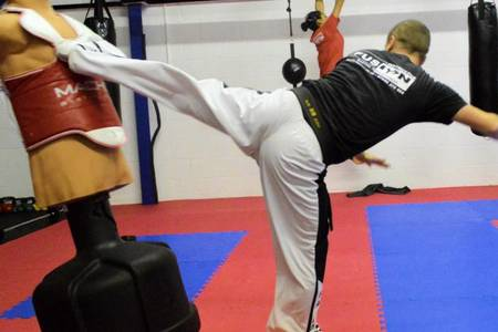 Black belt martial arts instructor Darren Stevens helped police arrest a suspected drink-driver