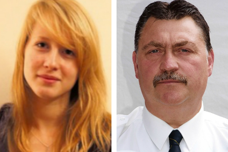 Student Emma Sage was savaged by a dog let loose by former police dog handler Stephen Dean